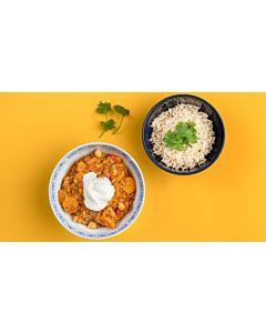 Resepti-ViaEscan Marokkolainen kasvispata riisillä