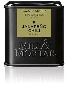 MILL & MORTAR MAUSTE JALOPENO CHILI HIUTALEET 45G