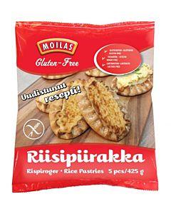 PAKASTE MOILAS RIISIPIIRAKKA 5KPL/425G GLUTEENITON