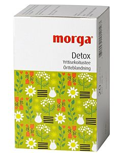 MORGA DETOX YRTTITEE 20PSS/30G