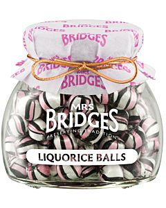 MRS BRIDGES MAKEINEN LAKRITSAPALLOT 155G