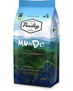 PAULIG MUNDO 500G LUOMU PAPUKAHVI