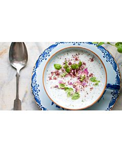Resepti-Persialainen jogurttikeitto