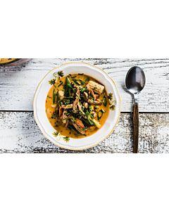 Resepti-Mausteinen possu-currykeitto