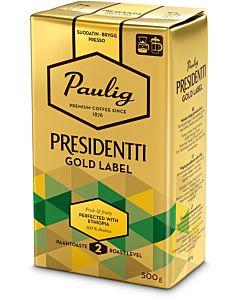 PAULIG PRESIDENTTI 500G GOLD LABEL SUODATINJAUHATUS