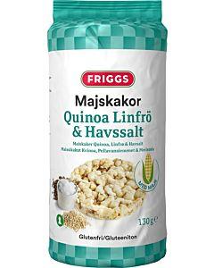 FRIGGS  MAISSIKAKKU 130G KVINOA & PELLAVANSIEMEN & MERISUOLA