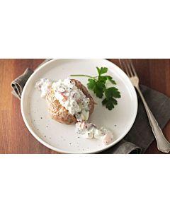 Resepti-Raejuusto-kasvistäyte uuniperunoille