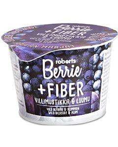 ROBERTS BERRIE+ FIBER VILLIMUSTIKKA & LUUMU + KUITU 100ML