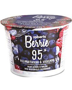 ROBERTS BERRIE VILLIMUSTIKKA & VADELMA 100ML