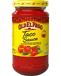 OLD EL PASO 230G TACO SALSA MEDIUM