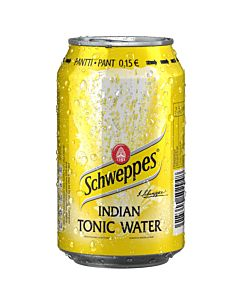 SCHWEPPES INDIAN TONIC 0,33L TLK