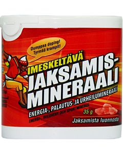 MASAJO IMESKELTÄVÄ JAKSAMISMINERAALI 35G