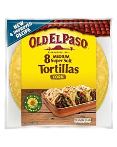 OLD EL PASO 8/335G MAISSI TORTILLA MEDIUM