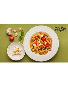 Resepti-ViaEscan Tomaatti-mozzarellapasta