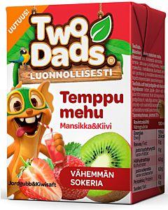 TWODADS TEMPPUMEHU MANSIKKA & KIIVI 2DL