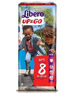 LIBERO UP&GO HOUSUVAIPPA KOKO 8 (19-30 KG) 30KPL
