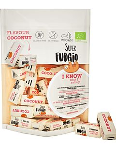 SUPER FUDGIO LUOMU KOOKOSFUDGE 150G