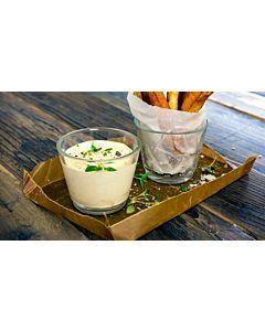 Resepti-Crème fraiche-kastike vasikanfondilla ja valkosipulilla