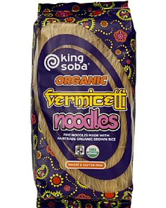 KING SOBA LUOMU VERMICELLI NUUDELI 250G RK GLUTEENITON