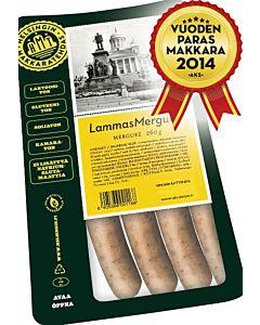 HELSINGIN MAKKARATEHDAS LAMMASMERGUETZ 260G LISÄAINEETON