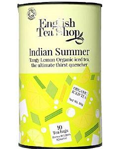 ENGLISH TEA SHOP LUOMU JÄÄTEEPUSSI INDIAN SUMMER 80G 10PSS