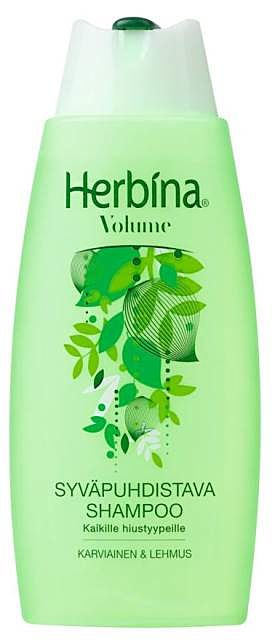 HERBINA 200ML SHAMPOO DEEP CLEANSING SYVÄPUHDISTAVA 6414504217736 76590f697f