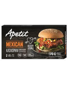 PAKASTE APETIT MEXICAN KASVISPIHVI 170G
