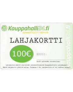 E-LAHJAKORTTI 100 EUR KAUPPAHALLI24