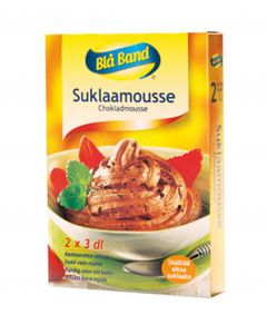 BLÅ BAND SUKLAAMOUSSE 112G 2-PAKK