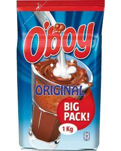 O'BOY 1KG TÄYTTÖPUSSI KAAKAOJUOMAJAUHE
