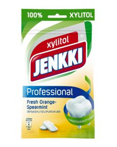 JENKKI 90G PROFESS FRESH ORANGE-SPEARMINT PURUKUMI