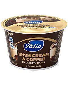 VALIO MAUSTETTU RAHKA 200G IRISH CREAM & COFFEE  LAKTOOSITON