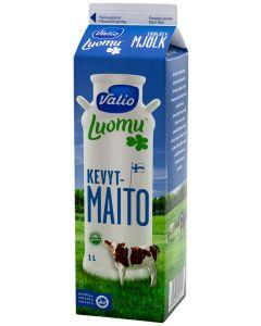 VALIO LUOMU KEVYTMAITO 1L