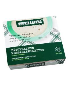 KOKKIKARTANO TÄYTELÄINEN METSÄSIENIKEITTO 300G