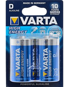 VARTA HIGH ENERGY PARISTO D 2KPL