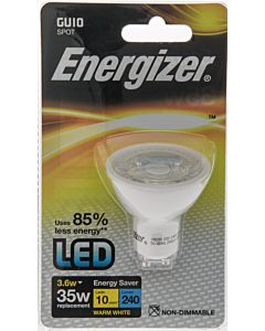 ENERGIZER LED POLTTIMO GU10  3,6W