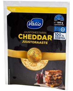VALIO JUUSTOMESTARIN 150G CHEDDAR JUUSTORAASTE LAKTOOSITON