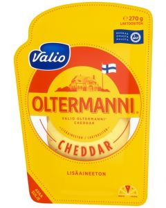 VALIO OLTERMANNI® CHEDDAR 270G VIIPALE