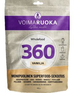 VOIMARUOKA 908G 360 VANILJA SUPERFOOD