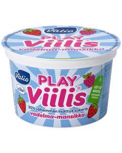 VALIO PLAY VIILIS 200G VADELMA-MANSIKKA EILA
