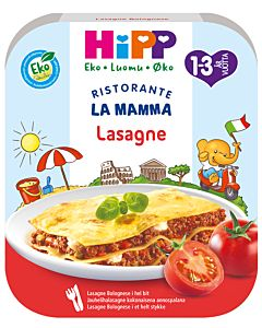HIPP LUOMU LA MAMMA PASTA LASANGE 250G 1-3V