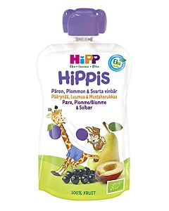HIPP HIPPIS PÄÄRYNÄÄ/ LUUMUA/MUSTAHERUKKAA 100G 4KK