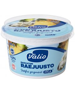 VALIO  RASVATON RAEJUUSTO 200G LAKTOOSITON