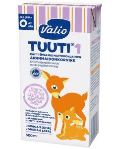 VALIO TUUTI 1 MAITOPOHJAINEN ÄIDINMAIDONKORVIKE 500ML UHT