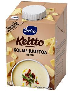 VALIO KOLME JUUSTOA KEITTO 5 DL UHT LAKTOOSITON