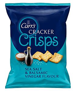 CARR'S CRACKER CRISPS SEA SALT & BALSAMICO 150G