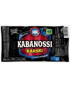 HK KABANOSSI KARSKI 300G