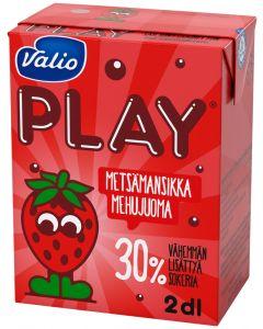 VALIO PLAY METSÄMANSIKKA MEHUJUOMA 2DL