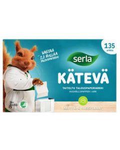 SERLA KÄTEVÄ TALOUSPYYHE 135 ARKKIA