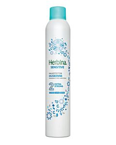 HERBINA 400ML HIUSKIINNE SENSITIVE EXTRA STRONG HAJUSTEETON